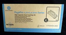 Konica Minolta 1710405-002 ALTA CAP BLACK PAGEPRO 8 1100 1200 SERIE ORIGINALE