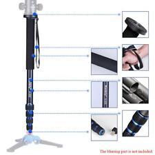 "65"" Telescopic DSLR Camera Tripod Monopod Stand Unipod Pole Walking Selfie Stick"