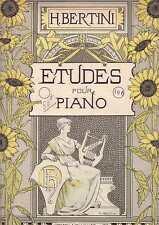 25 Etudes pour Piano (Partition) Henri Bertinini