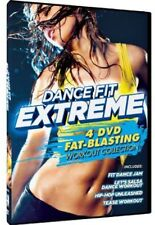 Dance Fit Extreme: Fat-Blasting Workout Collection [4 D (2013, REGION 1 DVD New)