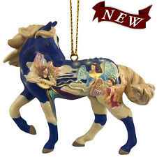 Angels on High Holiday Painted Pony Ornament