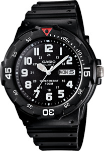 CASIO Genuine MRW-200H-1B Mens Watch Casual Classic Diving Sport FREE SHIPPING