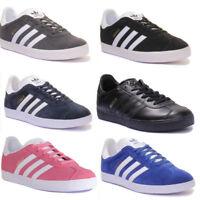 Adidas Gazelle Junior Suede Trainers Size Uk 3 - 7