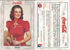 R@R@ AND ORIGINAL CARD U.S.A.*COCA COLA, SECOND SERIES-N.101*- NEW,PERFECT-N.380
