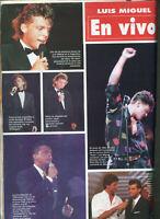 LUIS MIGUEL LIVE IN ARGENTINA  SEXY  Magazine JUNE 1994