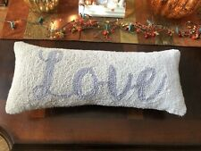Peking Handicraft Love Hook Pillow 8� x 20�