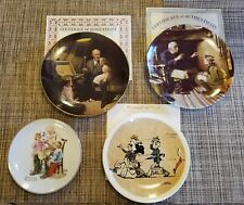 New ListingCollection of Norman Rockwell Collector Plates. Set of 4 Plates