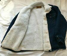 Vintage Wrangler Sherpa Lined Denim Jacket