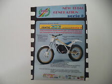 advertising Pubblicità 1987 MOTO FANTIC 303 PROFESSIONAL SERIE 2 TRIAL