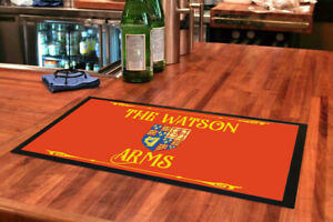Arms3 / Arms2/ Arms/ Personalised Bar mat / runners