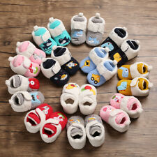 Christmas Gift Embroidery Booties Winter Boots Newborn Baby Boy Girl Crib Shoes