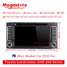 """6.2"""" Octa Core Android 6.0 Car DVD GPS For Toyota Landcruiser 2016 200 Series"""