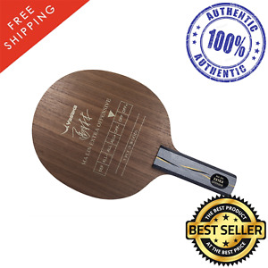 Yasaka Ma Lin Extra Offensive Table Tennis and Ping Pong Blade, Pick Handle Type