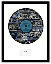 THE JAM  - MEMORABILIA - VINYL RECORD ART- Limited Edition - Ideal Gift