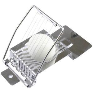 Trancheuse à œUfs Multifonctionnelle en Acier Inoxydable Compacte Manuelle W5M2