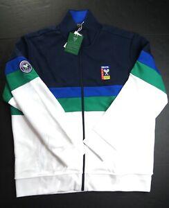 POLO RALPH LAUREN Men's Polo Tennis Wimbledon 2021 Double Knit Track Jacket XXL