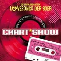 DIE ULTIMATIVE CHARTSHOW LOVESONGS DER 80er 2 CD NEU