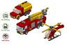 LEGO Feuerwehrmann wie Jupiter, Venus, Wallaby Sam - MOC Anleitung, keine Steine