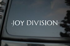Joy Division Sticker Vinyl Decal Car Wall Art The Cure Smiths Gothic Rock (V81)