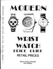 Roy Ehrhardt Book Modern 1970-1992 WristWatch Price Guide Luxury Watches