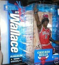 BEN WALLACE CHICAGO BULLS MCFARLANE BASKETBALL FIGURE