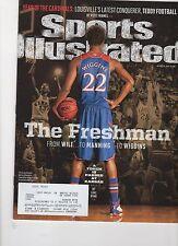Sports Illustrated - Oct 14, 2013  - Andrew Wiggins - Kansas Jayhawks NCAA Hoops