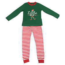Elf Pyjamas Christmas Family PJs Matching Set Dad Mum Cheeky Little Elves Men