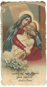 Lotto n. 3 Santini Maria SS. Addolorata con Orazioni e Preghiera (1910, 1914, 19