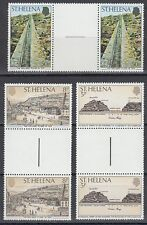 St. Helena 1979 ** Mi.321/23 Gutter pairs Schiefe Ebene Inclined plane [sq5987]
