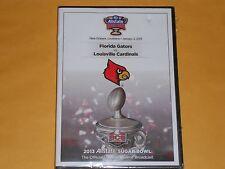 2013 ALLSTATE SUGAR BOWL New Sealed DVD Louisville Cardinals