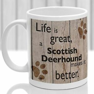 Scottish Deerhound  dog mug, Scottish Deerhound gift, ideal for dog lover