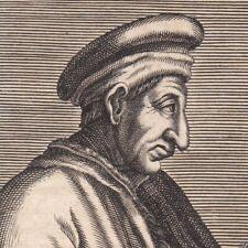 Portrait XVIIe Cosme de Médicis Cosimo de' Medici Banquier Homme Etat Florentin