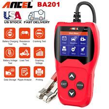 Automative Car 12V 100-2000CCA Battery Load Tester Charging System Digital Test