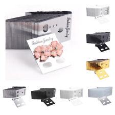 Set of 1000 Plastic Earring Ear Stud Display Cards Bulk Packing Displays Holder
