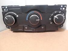 2008 Jeep JEEP COMMANDER Manual Temperature Heater A/c Control