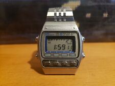 Seiko SILVER WAVE A547-5020 chrono LCD watch, tested works.