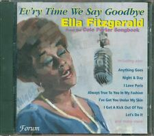 Ella Fitzgerald - Evr'Y Time We Say Goodbye (Cole Porter Songbook) Cd Ottimo
