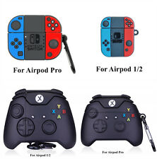 3D Nintendo Switch XBox Game Console Shockproof Case Cover For Airpods 1/2 Pro