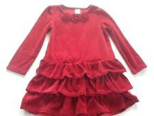 Girls Velvet Red Gymboree Dress, Size 5