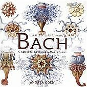 C.P.E. Bach: Complete Keyboard Variations, Andrea Coen CD | 5028421953052 | New