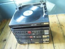 SONY complete hi-fi system 1980s vintage retro turntable PS-LX330P TV-V11W