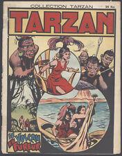 Collection Tarzan #29 Le Volcan En Fureur French Language Comic Newspaper 1946
