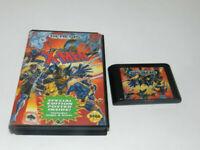 X-Men Sega Genesis Video Game Cart w/ Box Only