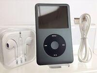 Apple iPod Classic 7th Generation Black / Space Grey (256GB) - PRISTINE