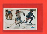 1971-72 Canadiens YVAN COURNOYER Pro Star NHLPA Postcard Nrmnt-Mt