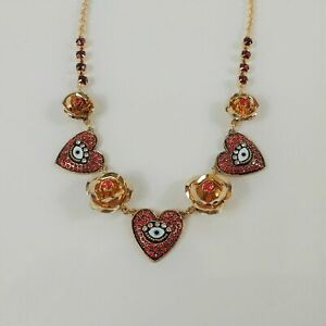 BETSEY JOHNSON THE RED EVIL EYE~FAST FREE SHIPPING!!!!