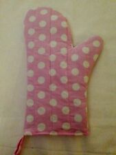 Spotted/Polka Dot Oven Mitts and Potholders