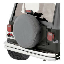 Tire Cover Gray 30-32 Inch Tires for Jeep CJ Wrangler Rough Trail TC303209