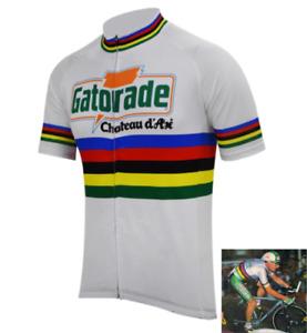 Maillot Gatorade Chateau d'Ax Cycliste Rétro Vintage Tour de France Giro Classic
