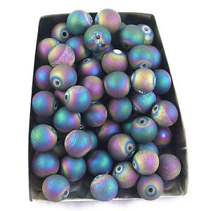 Series III natural matte gemstone spacer loose beads 4mm 6mm 8mm 10mm 12mm stone